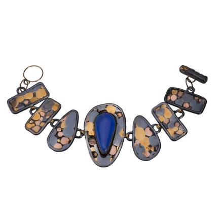 Lapis Pebble Bracelet - 20