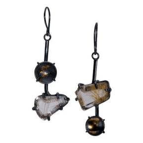 Rutilated+Quartz+Earring+-+4